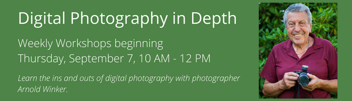 Digital Photography in Depth at the Main Library