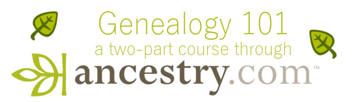 Intro to Ancestry Library Edition - 10/27 AND 11/3 - PREREGISTER