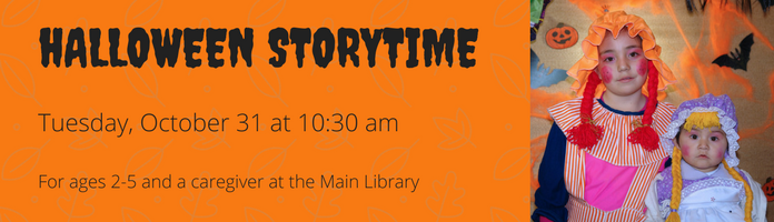 Halloween Storytime at the Main Library