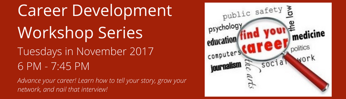 Career Development Workshop Series with Lynn Carroll at the Main Library