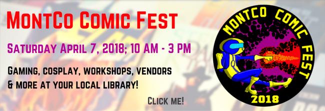 Montco Comic Fest 2018