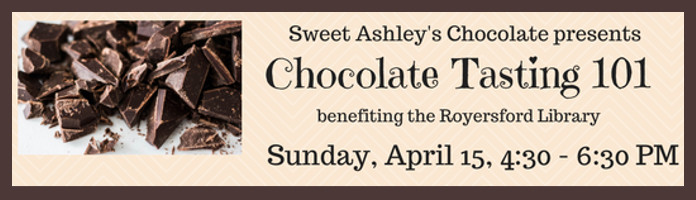 Sweet Ashley's Chocolate Fundraiser - Sunday, April 15 - Ticket Necessary