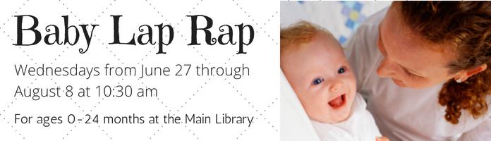 Baby Lap Rap at the Main Library