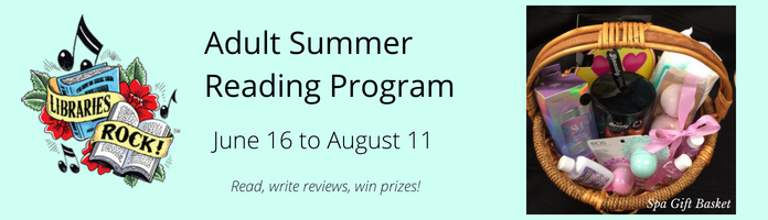 Adult Summer Reading Program at the Main Library