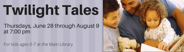 Twilight Tales at the Main Library