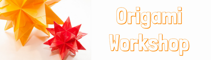 Origami Workshop - Thursday, July 26 @ 3:00-4:30 pm - PREREGISTER