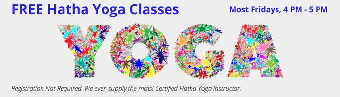 FREE Yoga Classes at the Main Library