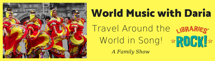 Around the World in Song - Wednesday, August 1 @ 10:30 am @ RCN