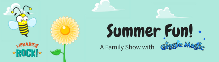 "Giggle Magic presents ""Summer Fun"" - Wednesday, August 8 @ 10:30 am @ RCN"