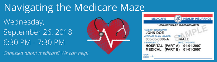 Navigating the Medicare Maze at Main Library