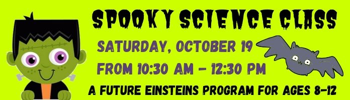 Future Einsteins Spooky Science Class at the Royersford Library