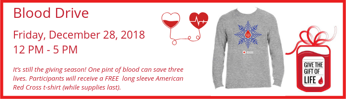 Blood Drive at the Main Library