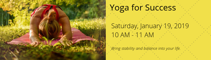 Yoga for Success at the Main Library