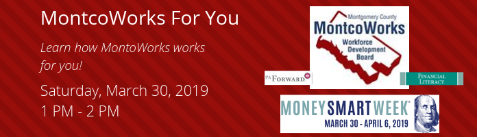 MontcoWorks For You at the Main Library