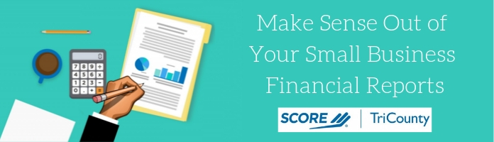 SCORE: Small Business Financial Reports Program at the Royersford Library