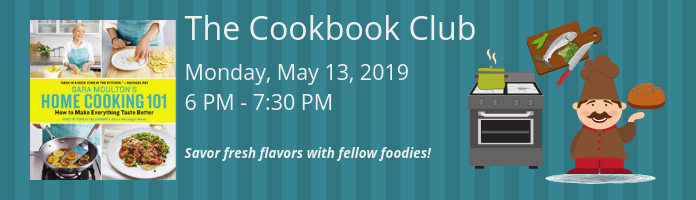 The Cookbook Club at the Main Library