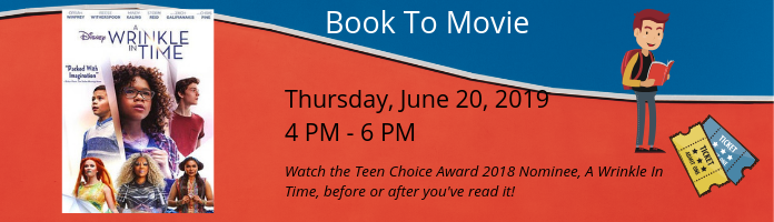 Book To Movie at the Main Library