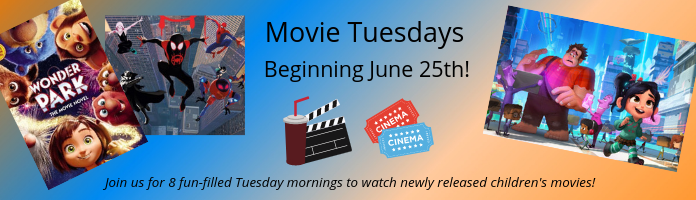 Movie Tuesdays at the Main Library