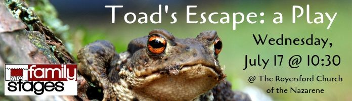 """""""Toad's Escape"""" with Family Stages Theater @ RCN"""