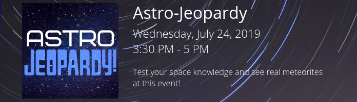 Astro-Jeopardy at the Main Library!