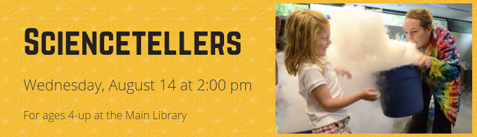 Sciencetellers at the Main Library
