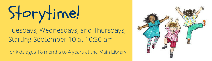 Storytime! at the Main Library