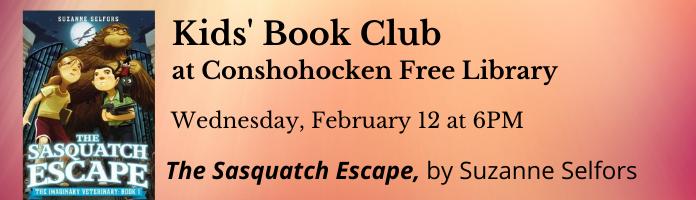 Kids' Book Club at Conshohocken Free Library