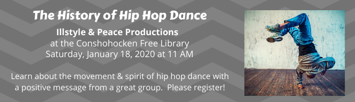 History of Hip Hop at Conshohocken Library