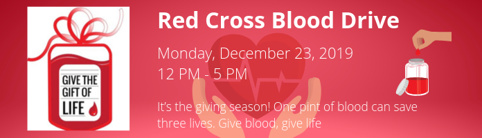 Red Cross Blood Drive at the Main Library