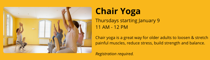 Chair Yoga at the Main Library