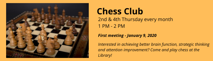Chess Club at the Main Library