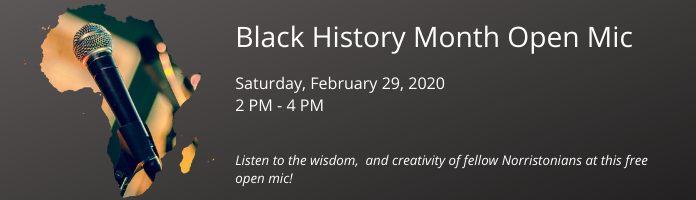 Black History Month Open Mic at the Main Library