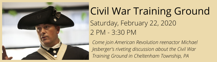 Civil War Training Ground at the Main Library