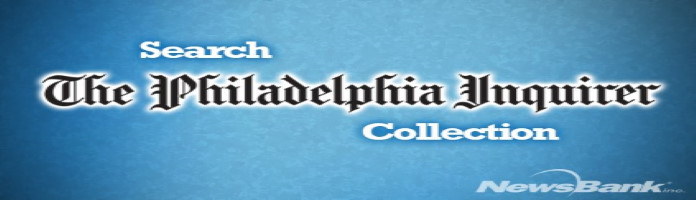 Search the Philadelphia Inquirer Collection