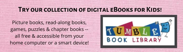 Try Tumblebooks for kids!
