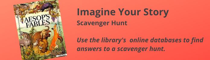 Imagine Your Story Scavenger Hunt
