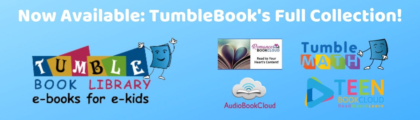Additional eBook Collections from TumbleBooks Now Available