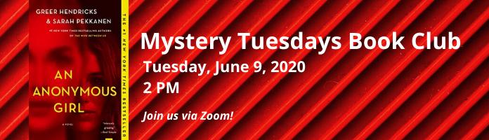Mystery Tuesdays Book Club