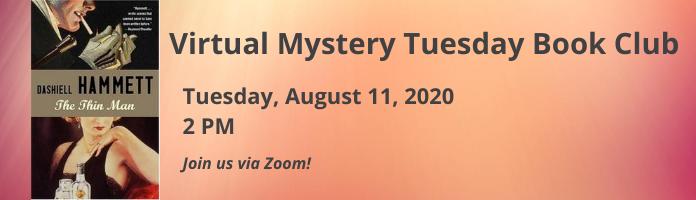 Virtual Mystery Tuesdays Book Club