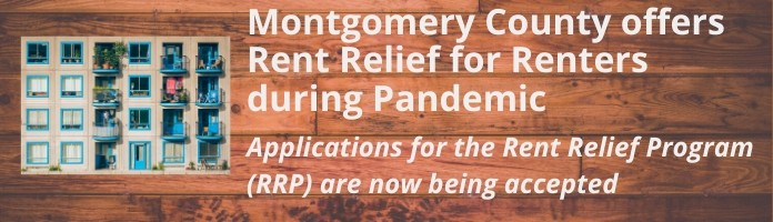 Montgomery County offers Rent Relief for Renters during Pandemic