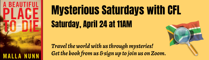 Virtual globe trotting with Mysterious Saturdays
