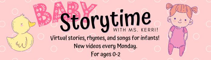 Virtual Baby Storytime