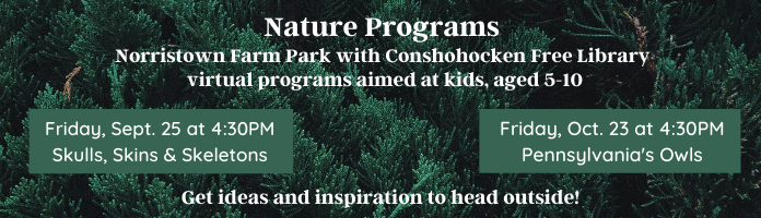 Nature Programs at Conshohocken Free Library