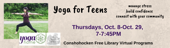 Yoga for Teens - aimed at ages 12-16