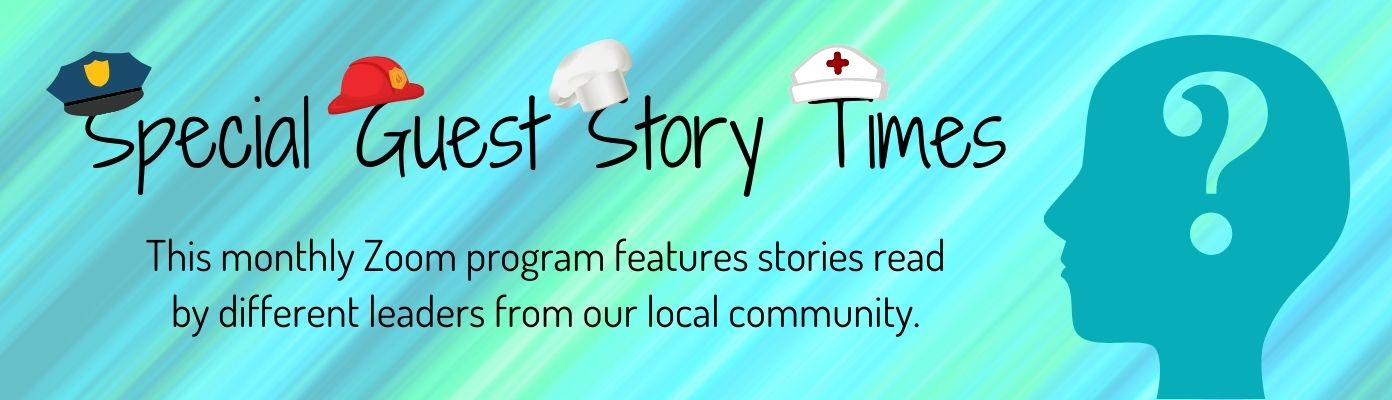 Special Guest Zoom Story Times