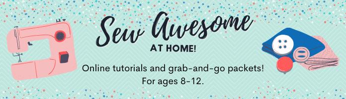 Virtually Sew Awesome! Online Program
