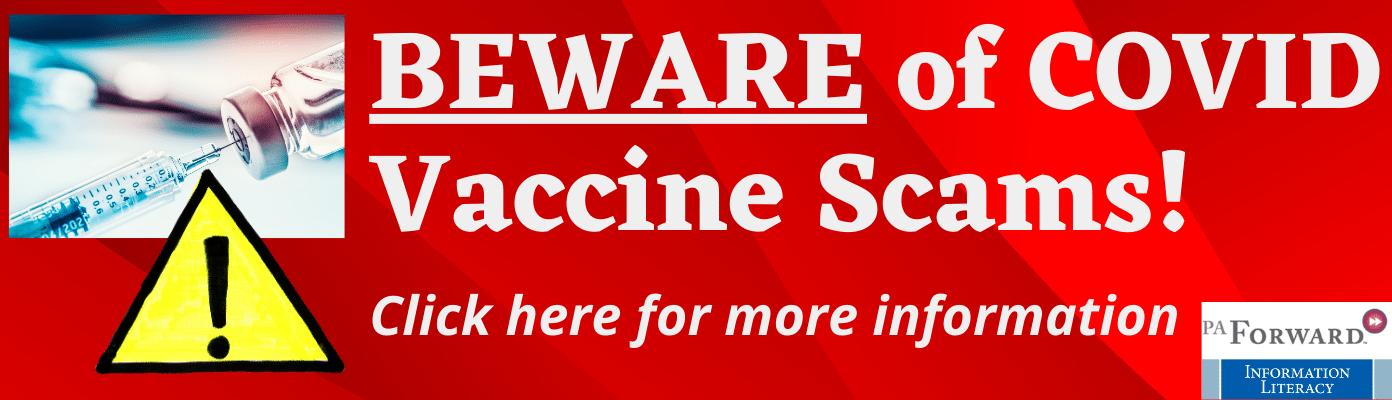 Beware of COVID Vaccine Scams