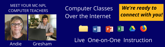FREE Computer Classes Over the Internet