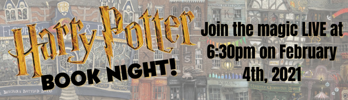 Harry Potter Book Night! Live on Facebook