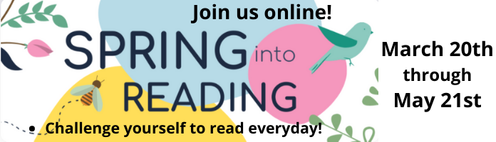 Spring into Reading Online Beanstack Challenge